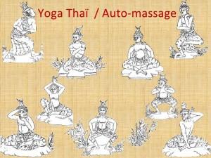 yoga thaï, automassage